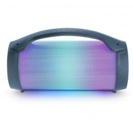 BIGBEN 421 PARTYBTLITEDB Enceinte lumineuse sans fil - Bluetooth - Micro inclus - Effets lumineux - 50W - Dark blue - vue face