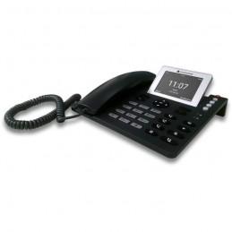 """COCOMM F740 Noir Téléphone Filaire 4G - Ecran LCD 3.5"""" couleur"""