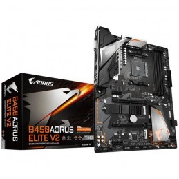 GIGABYTE AORUS B450 ELITE V2 Carte mere AMD AM4 - DDR4 - DVI - HDMI