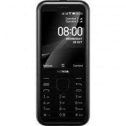 """NOKIA 8000 Noir téléphone GSM 4G Ecran LCD 2.8"""" couleur"""