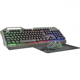 SPEEDLINK Tyalo Noir Pack Gaming Clavier Souris Tapis Filaire - AZERTY