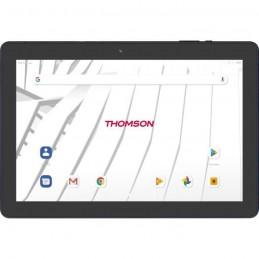 THOMSON TEOX10-3BK64 Tablette tactile 10'' HD - Quad Core - RAM 3Go - Stockage 64Go - Android 10 - Noir