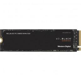 WESTERN DIGITAL 500Go SSD WD Black™ SN850 - M.2 NVMe (WDS500G1X0E) - vue de dessus