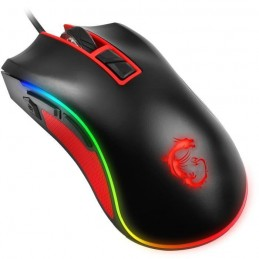 MSI Souris Gaming Filaire USB - Noir / Rouge