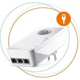 DEVOLO Adaptateur CPL Magic 2 LAN triple Extension - Jusqu'a 2400 Mbits/s
