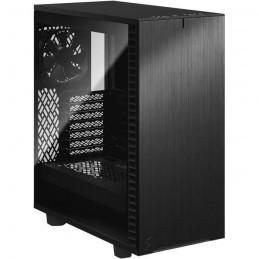 FRACTAL DESIGN Define 7 Compact Boitier PC Moyen Tour Panneau Verre Trempé Teinté - Noir