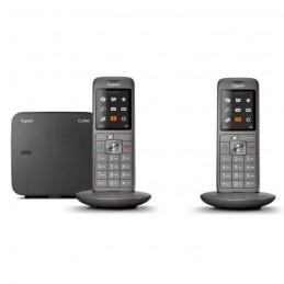 GIGASET CL 660 Duo Anthracite Téléphone Fixe sans fil DECT