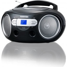 TOSHIBA TY-CRS9 BoomBox Radio / CD Portable - Noir