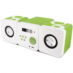 METRONIC 477180 Micro-chaîne Gulli Radio CD MP3 - 12 W avec port USB, prise casque