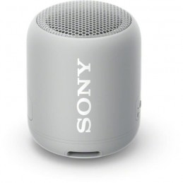 SONY SRSXB12H.CE7 Enceinte portable - Bluetooth - Extra Bass - Waterproof - 16h d'autonomie - Gris