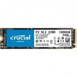 Crucial 1To SSD P2 3D NAND - Format M.2 NVMe (CT1000P2SSD8)