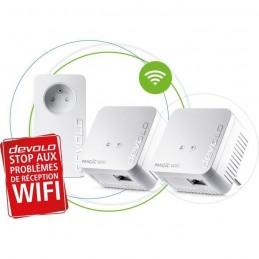 DEVOLO Magic 1 WiFi mini - Multiroom Pack 3 adaptateurs CPL - 1200 Mbit/s