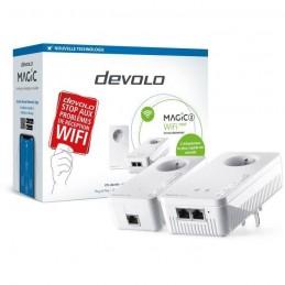DEVOLO CPL Magic 2 WiFi next - Starter Kit 2 Adaptateur CPL jusqu'a 2400 Mbits/s - vue emballage