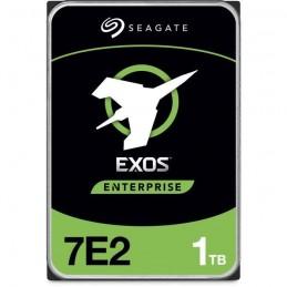 SEAGATE 1To Exos 7E2 HDD 3.5'' SATA 6Gb/s 7200trs/mn - Buffer 128 Mo - ST1000NM0008 - vue de dessus