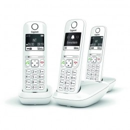 GIGASET AS690 Trio Blanc Téléphone Fixe sans fil
