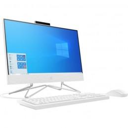 HP 22-df0123nf PC All-in-One 22'' HD - Celeron J4025 - RAM 4Go - SSD 128Go - Windows 10 - AZERTY