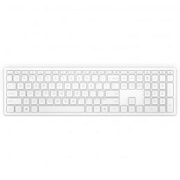 HP Pavilion Wireless Keyboard 600 - Blanc Sans fil - AZERTY - vue de dessus