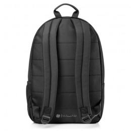HP 1FK05AA Sac a dos PC Portable Classic Backpack 15'' - Noir - vue de dos