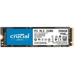 CRUCIAL 250Go SSD P2 3D NAND - Format M.2 NVMe™ (CT250P2SSD8)