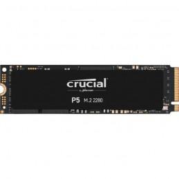 CRUCIAL 250Go SSD P5 3D NAND - Format M.2 NVMe™ (CT250P5SSD8) - vue de dessus