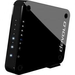 DEVOLO Access Point One Noir - Point d'accès WiFi 4 ports Ethernet