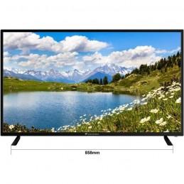 CONTINENTAL EDISON TV LED 43'' (109 cm) 4K UHD (3840x2160) - 3x HDMI - 2x USB
