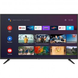 CONTINENTAL EDISON Android TV 43'' (109cm) 4K UHD (3840x2160) - Wi-fi - Bluetooth - Netflix - HDR - Google Assistant - vue face
