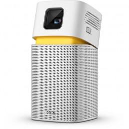 BENQ GV1 Projecteur portable - USB, WiFi - Haut-parleur Bluetooth - Blanc