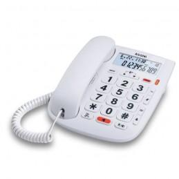 ALCATEL TMax 20 Blanc Téléphone Filaire Senior - Mains libres
