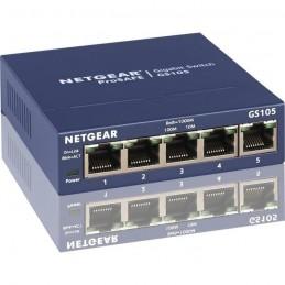NETGEAR GS105GE Switch réseau 5 Ports Gigabit (10/100/1000) - Protection ProSAFE