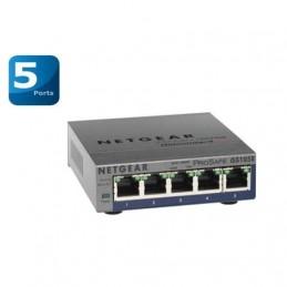 NETGEAR GS105E-v2 Switch réseau 5 Ports RJ45 GIGABIT (10/100/1000) - Configurable - ProSAFE Plus