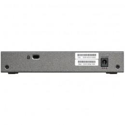 NETGEAR GS108E Switch réseau 8 ports RJ45 Gigabit (10/100/1000) - vue de dos