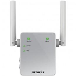 NETGEAR EX3700-100PES Blanc Répéteur prolongateur réseau WiFi - vue de face
