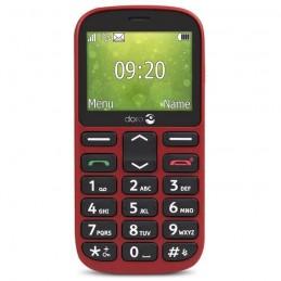 DORO 1360 Rouge Telephone GSM 2G ECRAN LCD 2.4'' couleur - vue de face