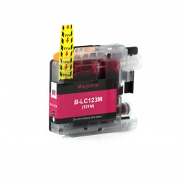 CR-LC123M COMPATIBLE BROTHER LC-123Mv3 MAGENTA NO-OEM CARTOUCHE JET D'ENCRE