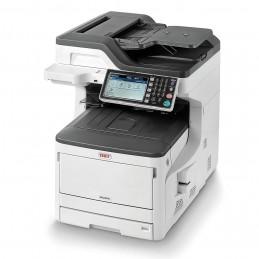 OKI MC853dn Imprimante Laser Couleur Multifonction 4-en-1 - A3 - Recto-Verso - USB - LAN