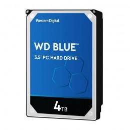 WESTERN DIGITAL WD Blue 4To HDD 3.5'' 5400rpm SATA3 6Gb/s 64Mo Cache WD40EZRZ