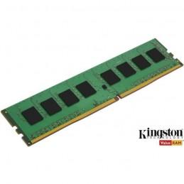 KINGSTON 4Go DDR4 ValueRAM (1 x 4Go) 2400 MHz RAM PC4-19200 - CL17 - 1.2 V (KVR24N17S6/4)