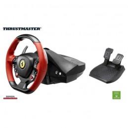 THRUSTMASTER Volant FERRARI 458 SPIDER Racing Wheel avec pédalier Compatible Xbox One