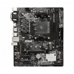 MSI B450M PRO-M2 MAX Carte mère micro-ATX AM4 DDR4 - VGA- DVI - HDMI - vue de dessus