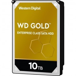 WESTERN DIGITAL 10To WD Gold™ classe entreprise HDD 3.5'' SATA 7200 rpm - Cache 256Mo (WD102KRYZ)