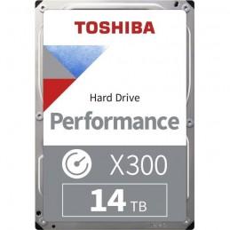 TOSHIBA 14To X300 HDD 3.5'' - SATA 6Gbs - 7200 rpm - Cache 256Mo (HDWR21EEZSTA)