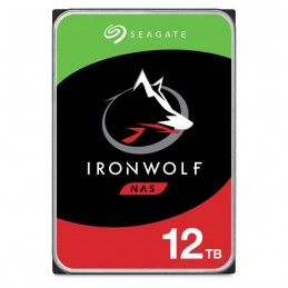 SEAGATE 12To NAS IronWolf HDD 3.56'' - SATA 6Gbs - 7200 rpm - Cache 256Mo (ST12000VN0008)