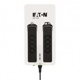 EATON 3S 700 IEC Onduleur 700VA - 420W - multiprise, parafoudre - 8 Prises