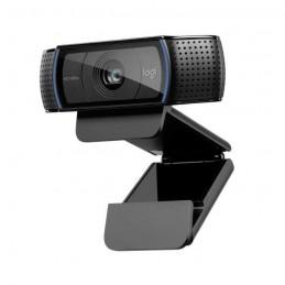 LOGITECH HD Pro C920 Refresh Webcam 15MP USB2.0 Mise au point automatique - vue de trois quart