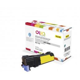 ARMOR OWA K15250OW TONER LASER REMANUFACTURÉ JAUNE COMPATIBLE 1320 DELL© 593-10260 - vue emballage