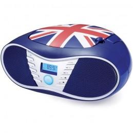 BIGBEN CD58GB Radio CD-USB-MP3 portable - United kingdom - Bleu