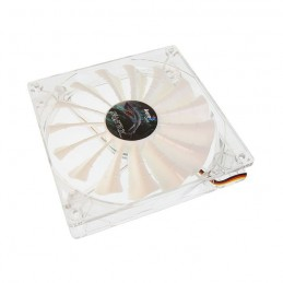 AEROCOOL Shark White Edition Ventilateur boitier PC 140mm - LED Blanc