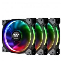 THERMALTAKE Riing Plus 14cm RGB TT Premium Ventilateur boitier PC 140mm - Pack de 3