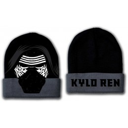 COTTON DIVISION Star Wars Bonnet Kylo Mask Noir